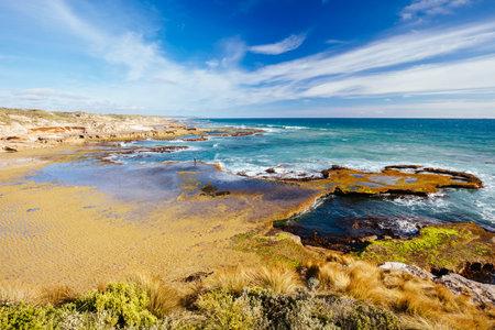 梨海滩在布莱尔加沃里澳大利亚
