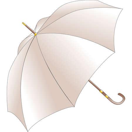made in italy: umbrella Illustration