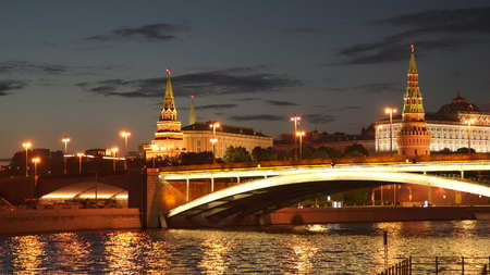 The Great Stone Bridge - one of the bridges across the Moscow River