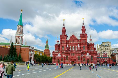 Moscow, Russia - July 15, 2017: Red square, Moscow, Russia