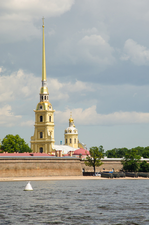 Peter and Pavel Fortress. Saint Petersburg, Russia 報道画像