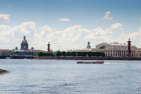 Vasilyevsky Island is an island in St. Petersburg, Russia