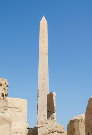 Obelisks at the Karnak Temple in Luxor, Egypt