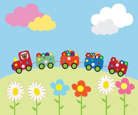 Baby background Stock Vector - 9719618