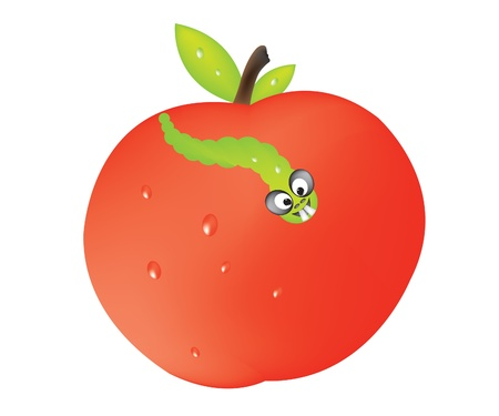 Apple Stock Vector - 9721884