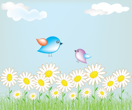 Cute bird Stock Vector - 9805041