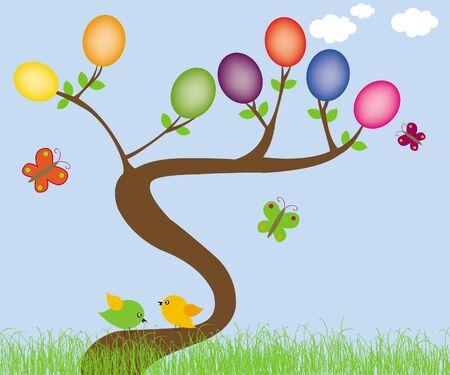 Holiday eggs Ilustracja
