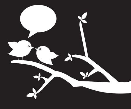migrating birds: Love Birds