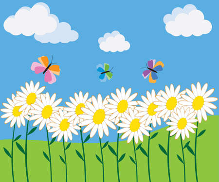 Nature - vector illustration Vector