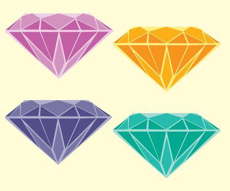 Diamanten Standard-Bild - 9935490