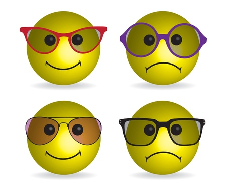 Smiley face illustration Stock Vector - 12775503