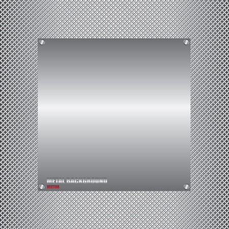 aluminium wallpaper: Metal background illustration