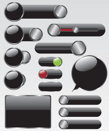 Web button illustration Stock Vector - 14312939