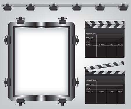 Film abbildung ausstattung Standard-Bild - 14662273