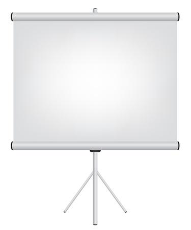 projector screen: Proiettore Illustrazione schermata
