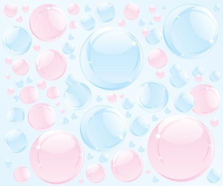 Streszczenie ilustracji mydlana