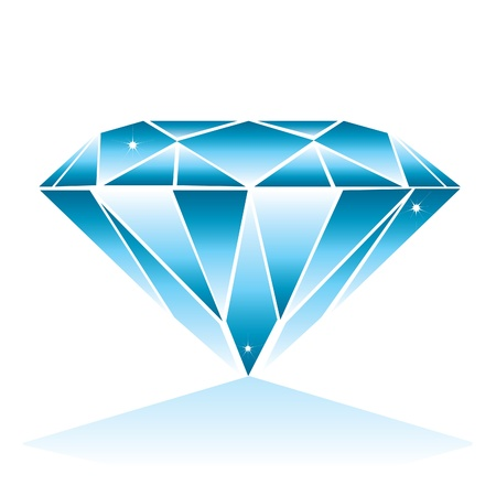 karat: Diamond illustration