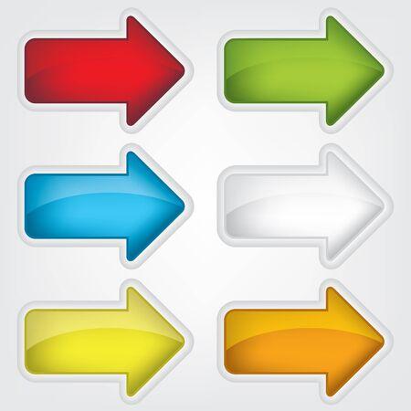 Arrows icon illustration Vector