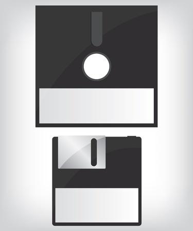 Diskette illustration Vector