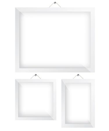 Frame white illustration Stock Vector - 20203137