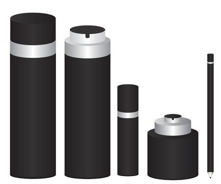 cream tube: Cosmetics package
