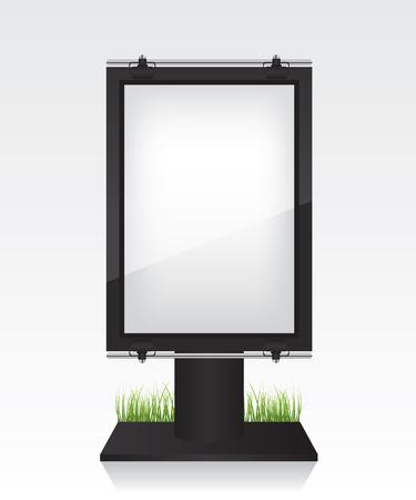 city light: City light black billboard