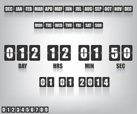 new year counter: Countdown Timer and Date