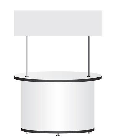 bar counter: Trade stand Illustration