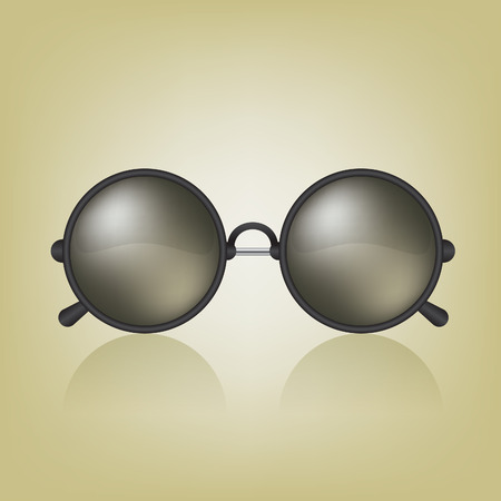 wayfarer: Retro sunglasses illustration