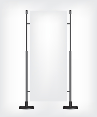 citylight: Roll up banner stand