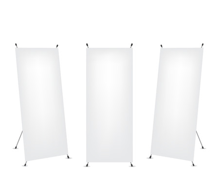 x stand: Roll up x-stand banner