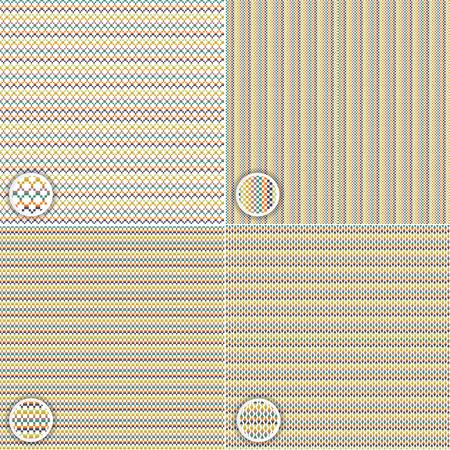 pale ocher: Seamless pattern background Illustration