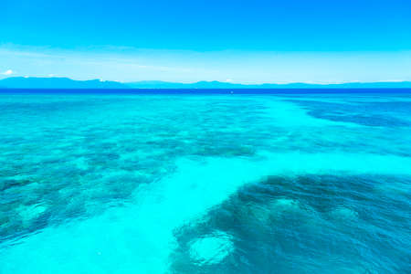 The Great Barrier Reef in Queensland State, Australia