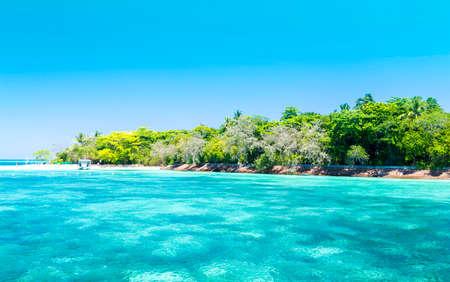 great barrier reef: The Great Barrier Reef in Queensland State, Australia