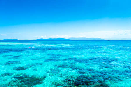great barrier reef: The Great Barrier Reef in Queensland State, Australia
