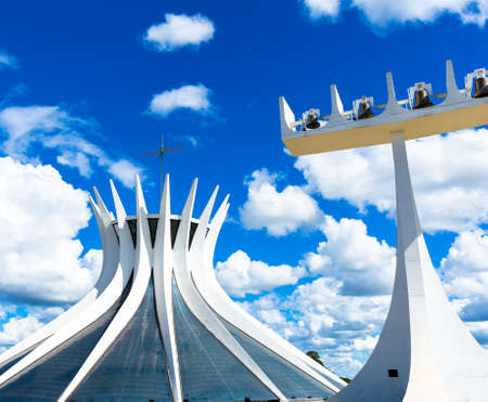 oscar niemeyer: Cathedral of Brasilia, Brazil