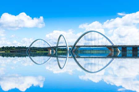 bridge: JK Bridge in Brasilia, Brazil