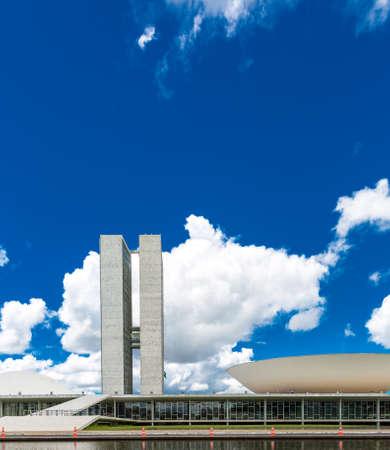 national congress: Brazilian National Congress in Brasilia, Brazil.