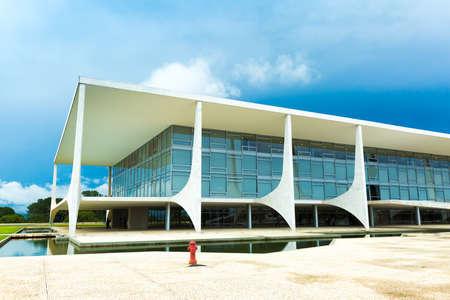 tribunal: BRASILIA, BRAZIL - CIRCA MARCH 2015: Supreme Federal Tribunal in Brasilia, Brazil Editorial