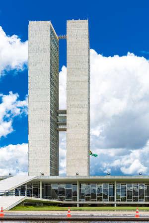 national congress: Brazilian National Congress in Brasilia, Brazil