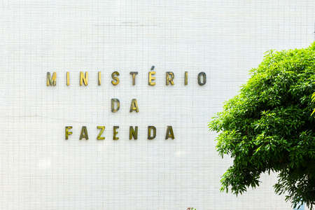 treasury: Department of the Treasury Ministry of Finance in Brasilia, Brazil Editorial