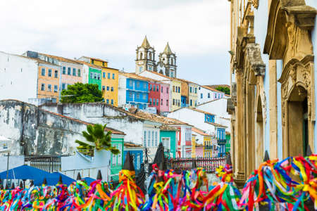 america del sur: El centro histórico de Salvador, Bahia, Brasil Foto de archivo