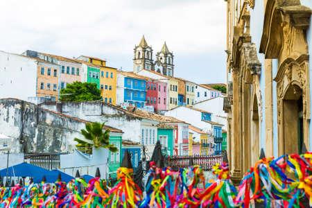 The historic centre of Salvador, Bahia, Brazil Stock Photo