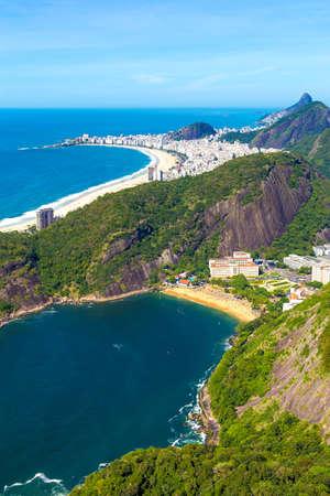 janeiro: Aerial view of Rio de Janeiro, Brazil Stock Photo