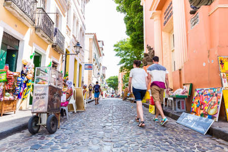 traditionally american: The historic centre of Salvador, Brazil