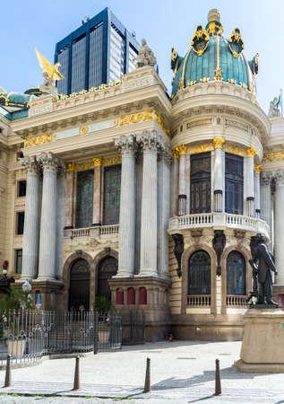 latin america: Opera House Teatro Municipal in Rio de Janeiro, Brazil - Latin America Editorial