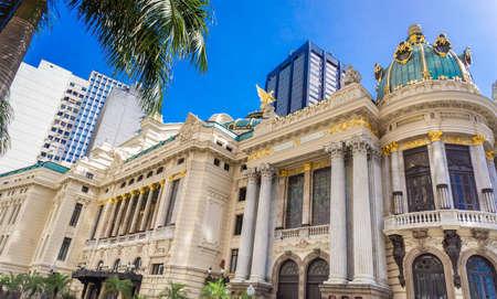 rio de janeiro: Opera House in Rio de Janeiro, Brazil