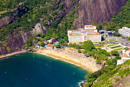 latin america: Red Beach in Rio de Janeiro, Brazil, Latin America