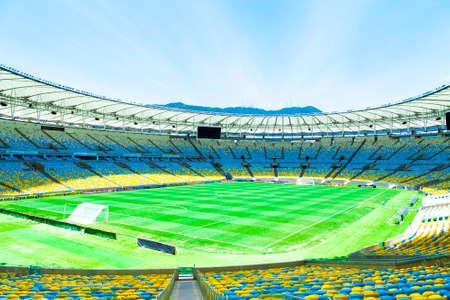 rio de janeiro: Maracana Stadium in Rio de Janeiro, Brazil Editorial
