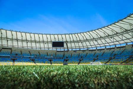 rio de janeiro: RIO DE JANEIRO, BRAZIL - CIRCA MAY 2014: The Maracana Stadium located in Rio de Janeiro, Brazil